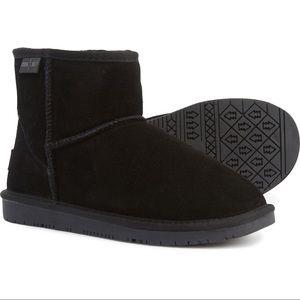 Minnetonka Moccasin Winter Ankle Boots - Black